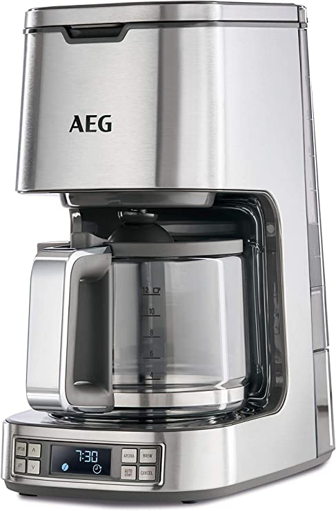 AEG KF7800 Cafetera Digital de Goteo Programable, 1100 W, 1.5 ...