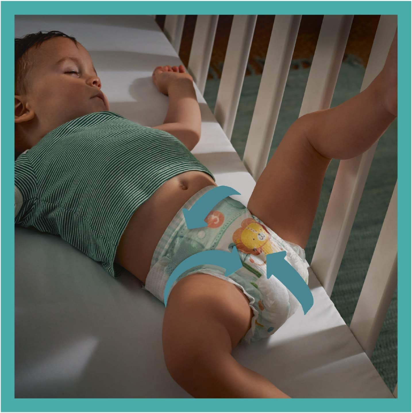 unisex Baby-dry pa/ñales Pampers 81715601
