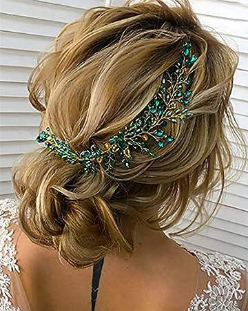 Gorgeous Green Sparkle Hair Clip