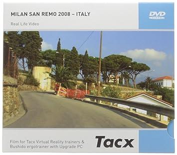 Tacx Films Real Life Video Cycling Classics Milan San Remo 2008