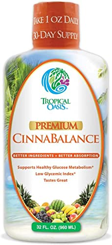 Cinnabalance Liquid Cinnamon Supplement w Cinnamon Bark