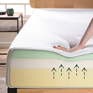 Zinus 8 Inch Ultima Memory Foam Mattress / Pressure Relieving / CertiPUR-US Certified / Bed-in-a-Box, Twin
