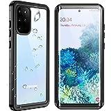 SPIDERCASE for Samsung Galaxy S20 Plus Waterproof Case, Built-in Screen Protector Fingerprint Unlock with Film, Shockproof Fu