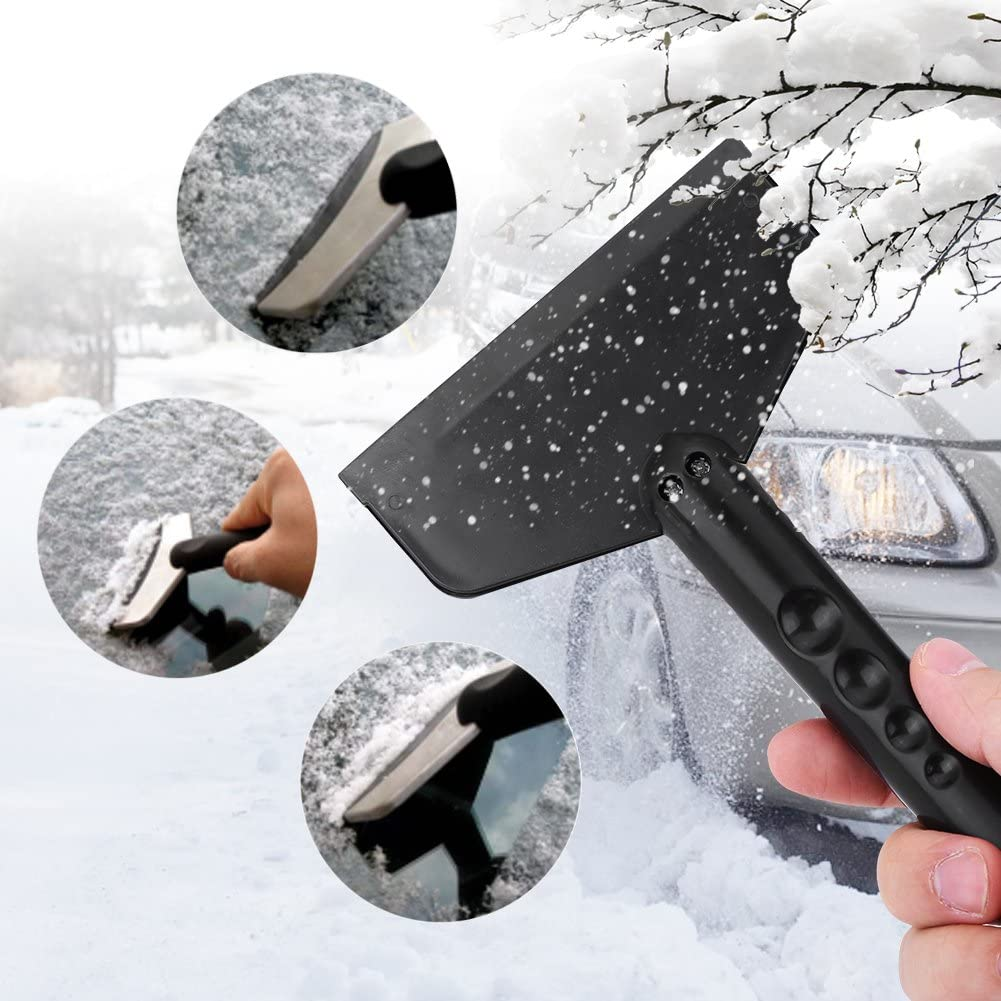 Car Ice Scraper Keenso Frost Snow Shovel Windshield and Window Removal Cleaning Mini Tool for Vehicle Car