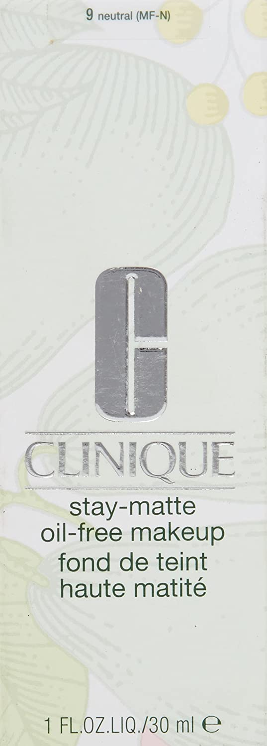 Clinique Stay Matte Oil Free Makeup, No. 09 Neutral, 1 Ounce