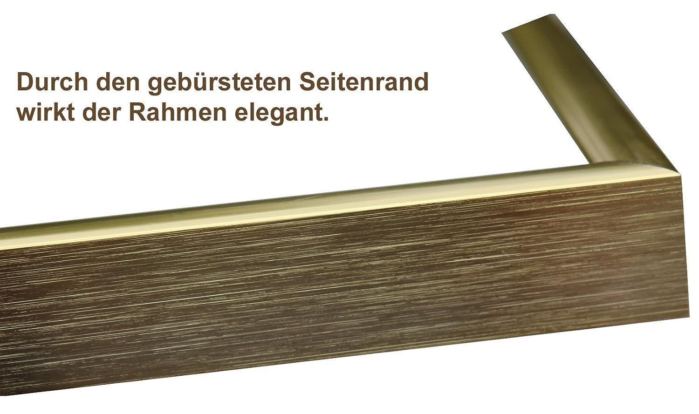 Amazon.de: OSLO MasterLine Bilderrahmen 21x30 DIN A4 gold glänzend ...