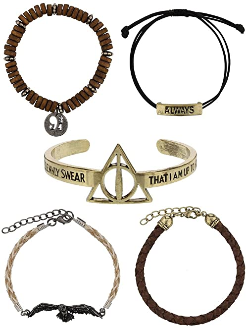 Harry Potter 5 Piece Bracelet Set