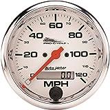 Pro-Cycle Silver 3 3//4 Speedo Elec Auto Meter AutoMeter 19356 Gauge 160 Mph