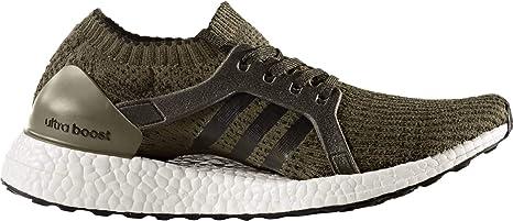 adidas – Ultra Boost X Zapatillas de Running para Mujer, Verde Oscuro: Amazon.es: Deportes y aire libre