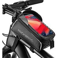 """Bolsa Bike Quadro de Bicicleta Rockbros Simple Porta Celular Tela Grande 6.5"""" Prova d´Água"""
