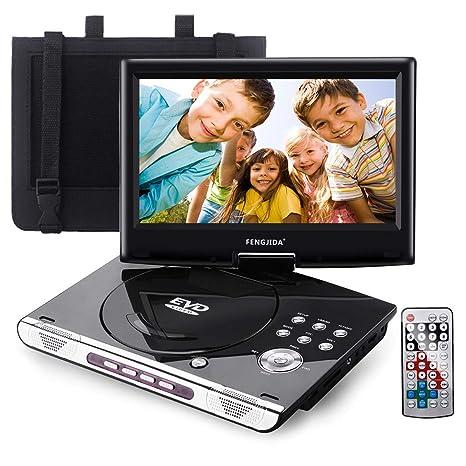 Amazon.com: Fengjida - Reproductor de DVD portátil de 10,5 ...