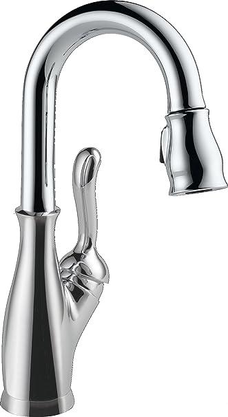 Delta Faucet Leland Single Handle Bar Prep Kitchen Sink Faucet With