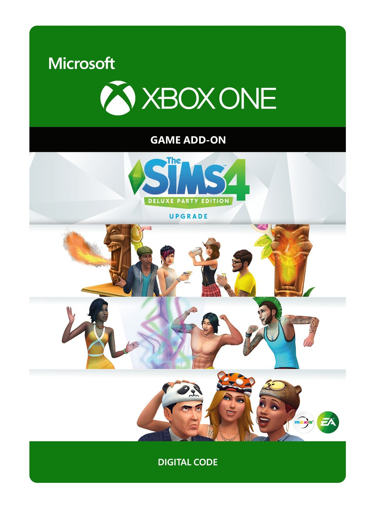 Amazon Com The Sims 4 Deluxe Edition Upgrade Xbox One Digital