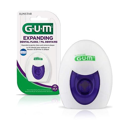 Amazon.com: GUM - 2030C Expanding Dental Floss, 43.3 Yards: Industrial & Scientific