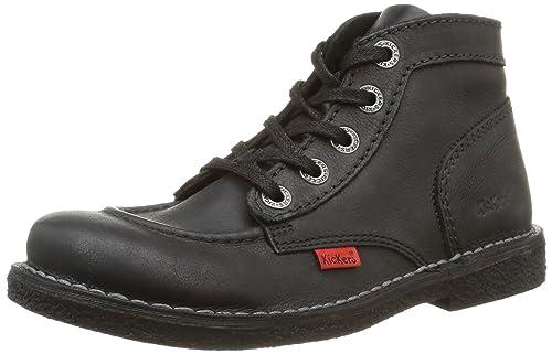 Kickers Legendiknew - Chaussures À Lacets Noir Pour Les Femmes Noires 36 04lnZ
