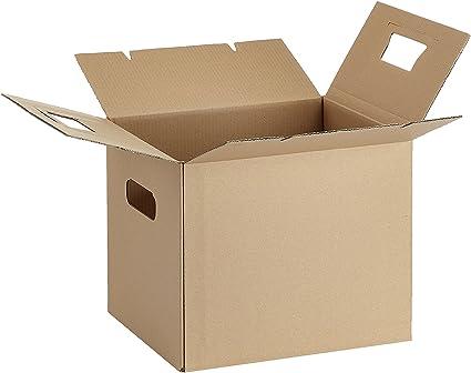 AmazonBasics - Caja para mudanza, grande, 15 unidades (sin cinta ...