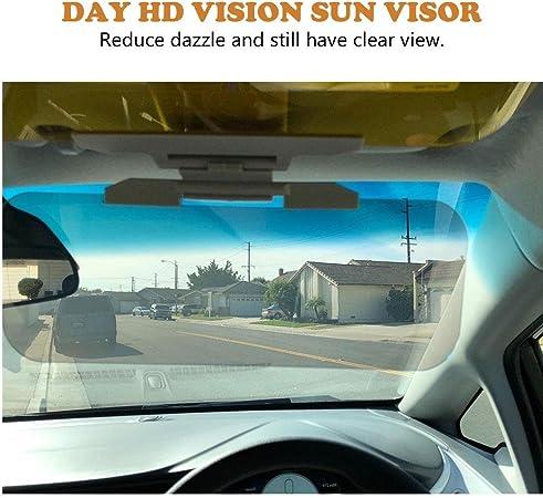 Sonnenblende Für Auto Fraudee Auto Sonnenblende Upgrade Auto Windschutzscheibe 2 In 1 Blendschutz Visier Für Tag Und Nacht Auto Visier Extender Hd Blendend Auto Auto