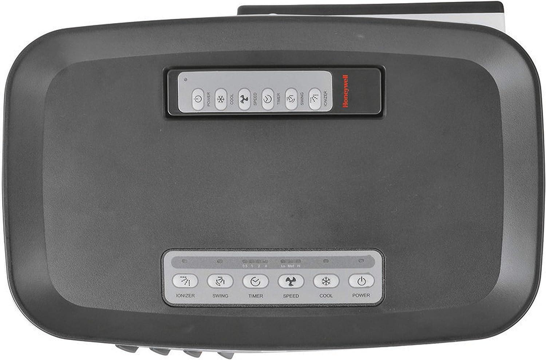 Honeywell 176 CFM Swamp Remote Control in White//Gray Indoor Evaporative Air Cooler