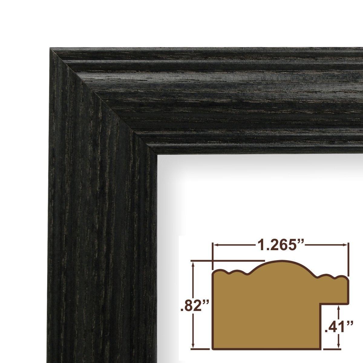 Amazon 24x28 picture poster frame wood grain finish amazon 24x28 picture poster frame wood grain finish 1265 wide black 440bk jeuxipadfo Gallery