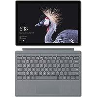 Microsoft Surface Pro - Ordenador portátil 2 en 1, 12.3'' (Intel Core i5-7300U, 8GB RAM, 128GB SSD, Intel Graphics, Windows 10 Pro) Plata - Teclado QWERTY Español