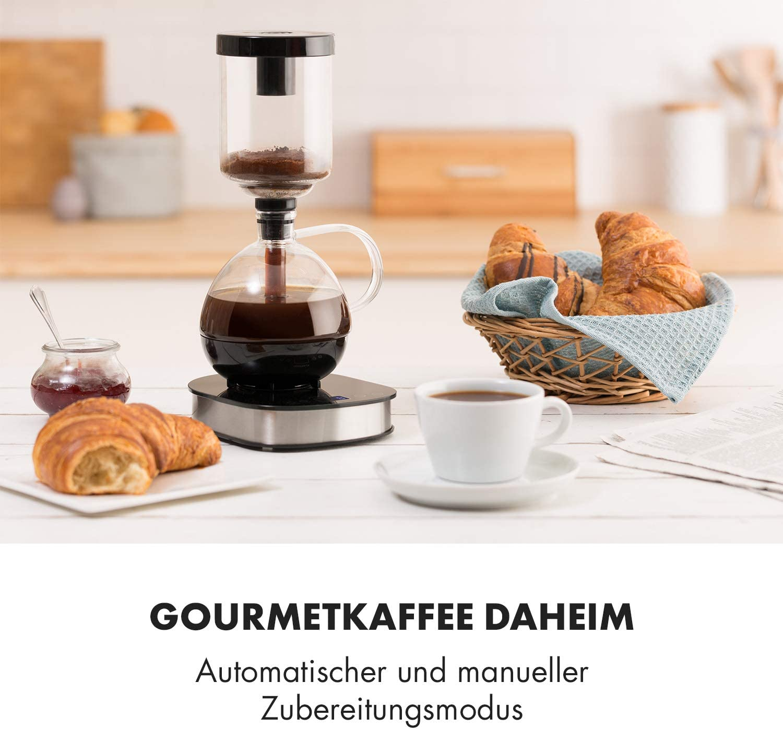 Was zeichnet eine Vakuum Kaffeemaschine aus?