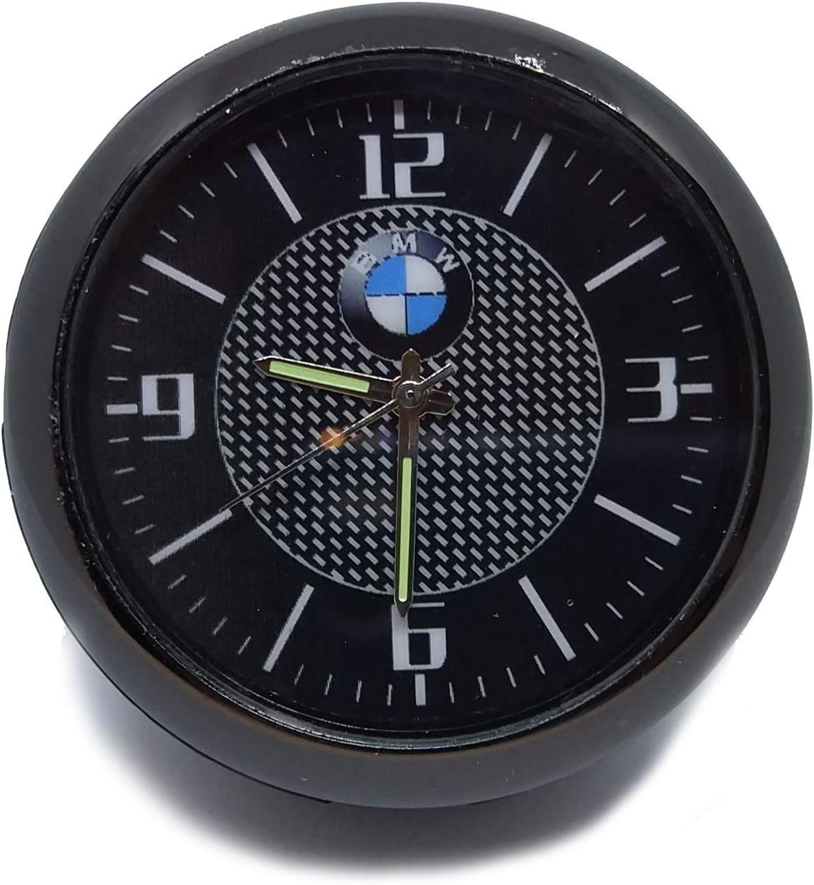 Reloj decoración para coche con logotipo de coche B