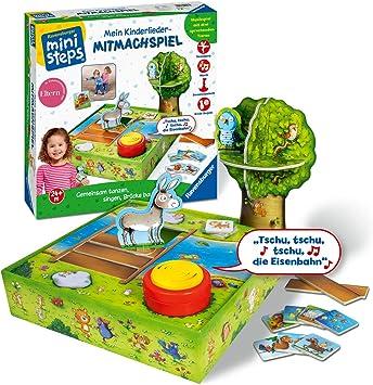 Ravensburger 4143 Ministeps - Juego de Mesa Infantil con Canciones, Multicolor: Amazon.es: Juguetes y juegos