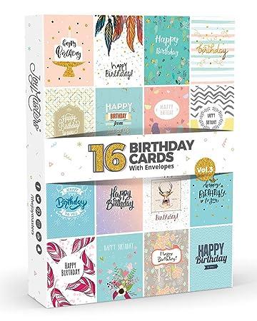 Joy MastersTM Geburtstagskarten Set Vol3 Box Mit Mehreren Karten Und Weiszlig