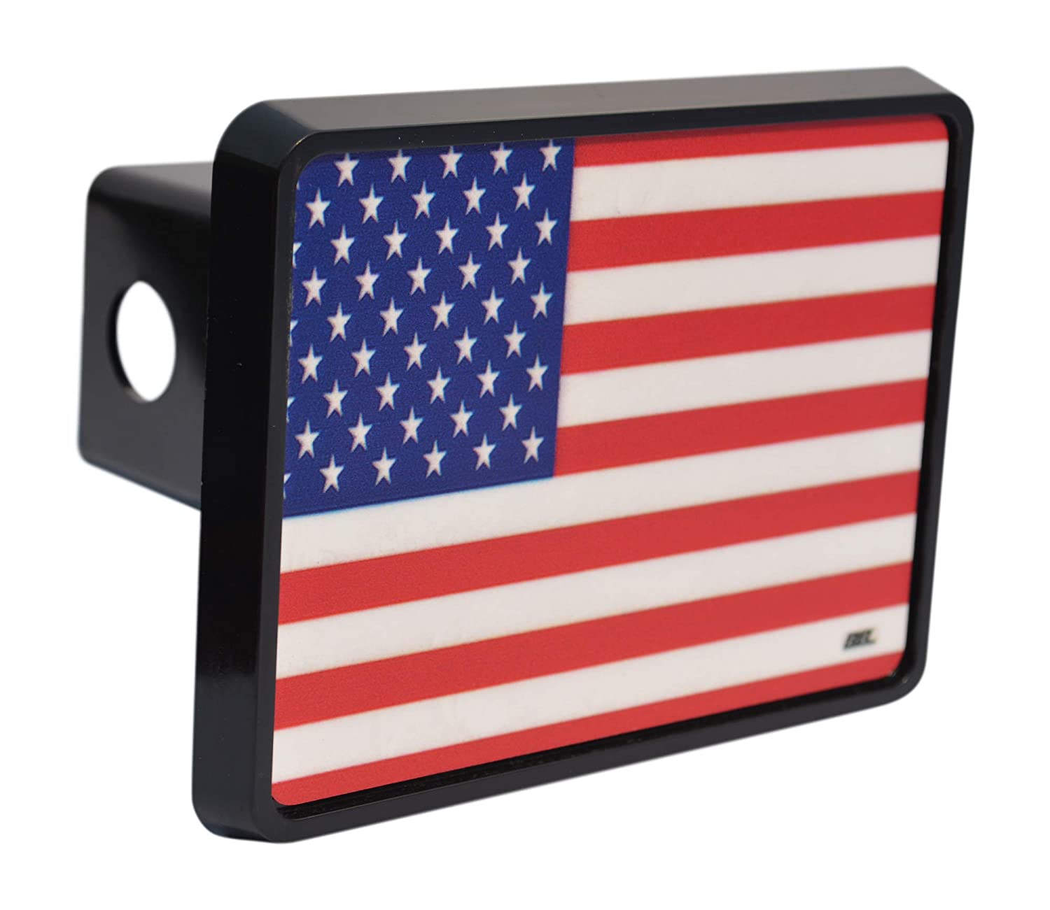 Rogue River Tactical USA American Flag Trailer Hitch Cover Plug US Patriotic Old Glory VV294