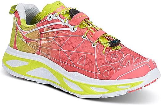 Hoka One One Huaka Rosa y Amarillo – Zapatillas de Running Mujer ...