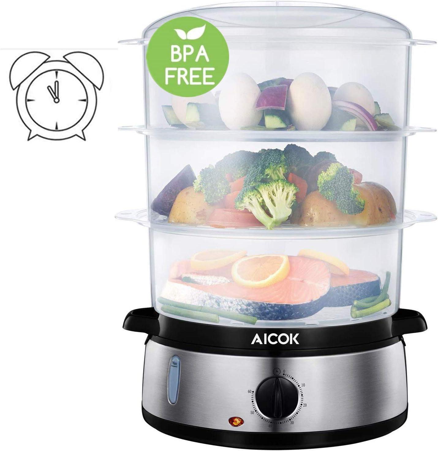 Best electric food steamer BPA free