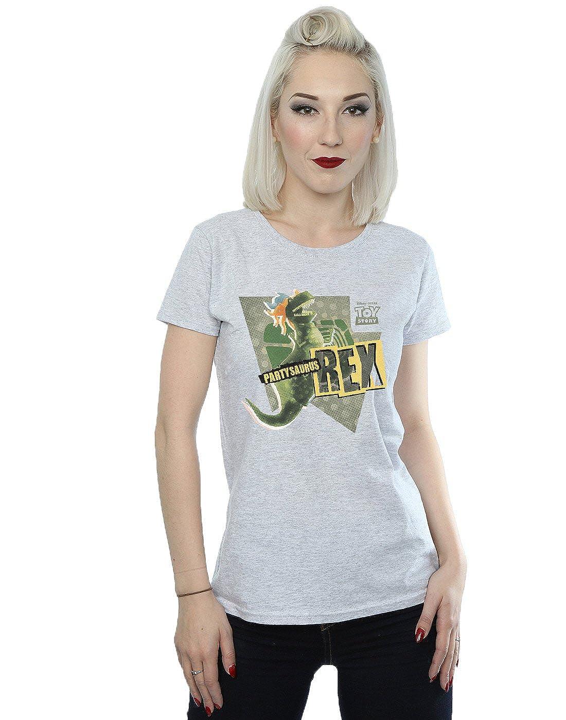 Disney Womens Toy Story Partysaurus Rex T-Shirt