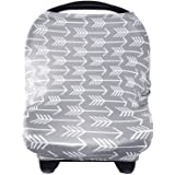 Nursing Breastfeeding Cover Scarf - Baby Car Seat Canopy Shopping Cart Stroller Carseat Covers for Girls and Boys - Best…