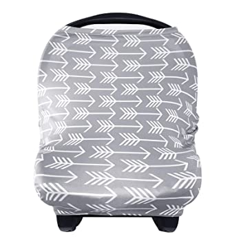 YOOFOSS- Nursing Baby Car Seat Cover Breastfeeding Scarf Covers