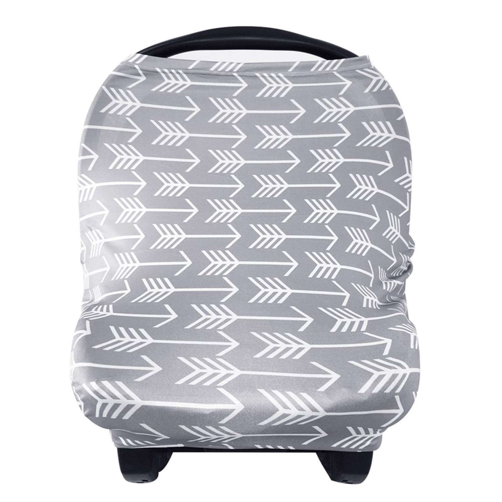 Nursing Cover Breastfeeding Scarf - Baby Car Seat Covers, Infant Stroller Cover, Carseat Canopy for Girls and Boys by YOOFOSS