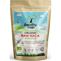Organic Maca Powder - High in Vitamins B1, B2, B6, Calcium, Iron and Zinc - Increase Vitality with Organic Raw Maca Root Powder (250g) by TheHealthyTree Company
