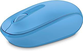 Mouse Sem Fio Microsoft, Wireless Mobile 1850, U7Z-00018 - Azul Ciano