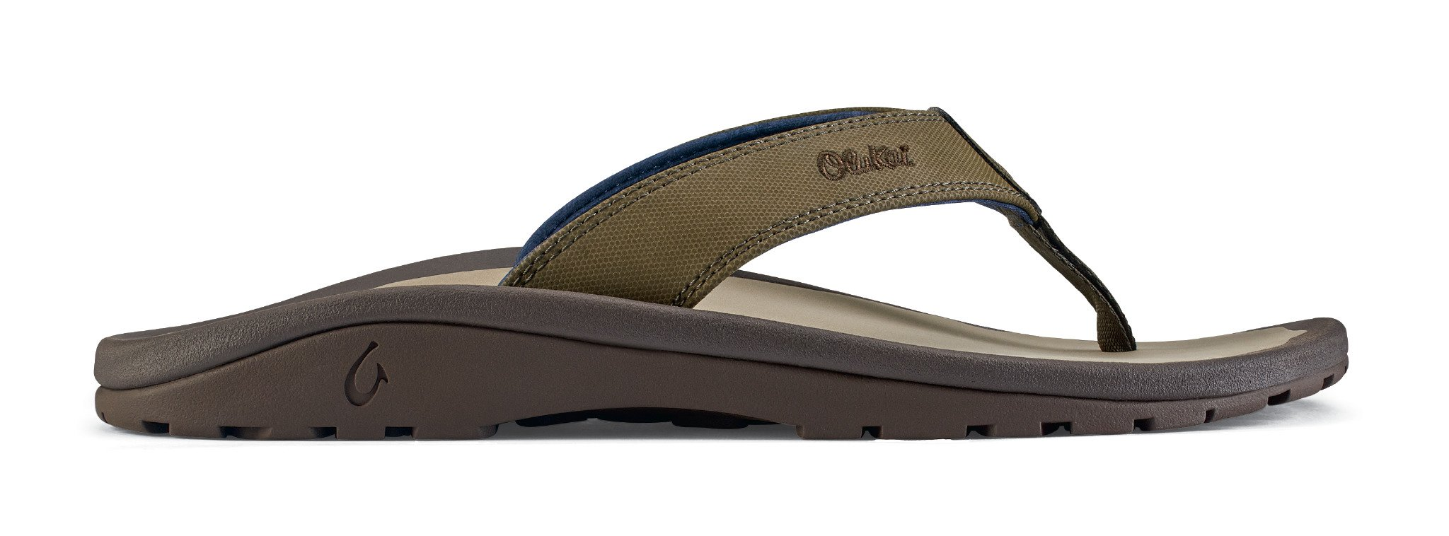 OLUKAI Ohana Sandals - Men's Husk/Clay 11 by OLUKAI