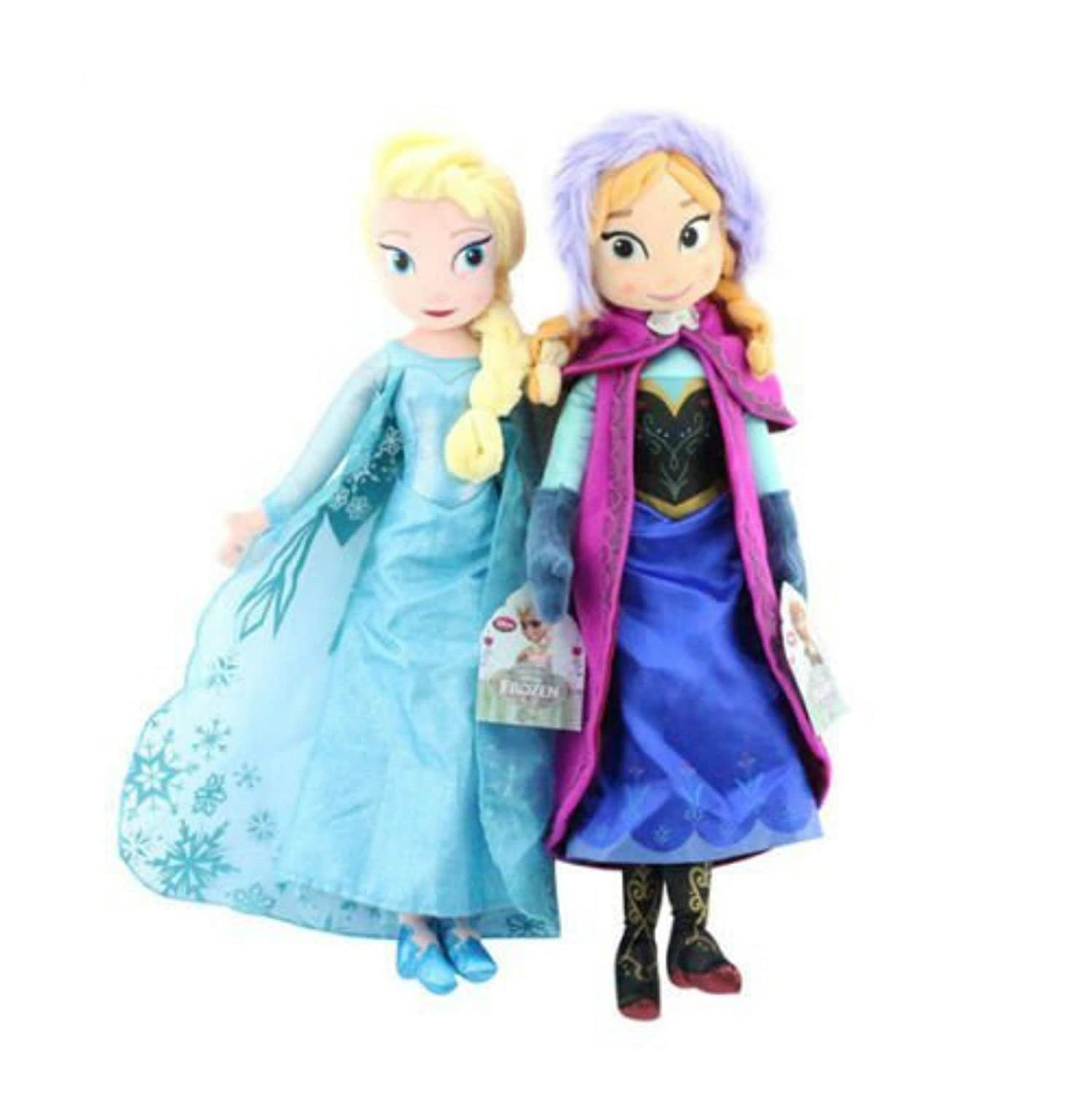 Vanvene Seller Birthday Gift 16 Elsa& Anna Princess Stuffed Plush Doll
