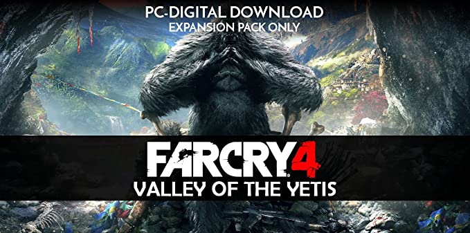 Buy Far Cry 4 Valley Of The Yetis Digital Code Only Online At Low Prices In India Ubi Soft Video Games Amazon In