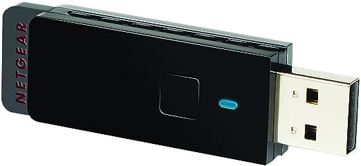 445 opinioni per Netgear WNA3100-100PES Adattatore USB Wireless N300 Mbps, Nero