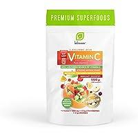 Intenson Vitamin C Powder Förpackning om 1 x 1000g - C-Vitamin Pulver – Antioxidant – Askorbinsyra – Vit C…