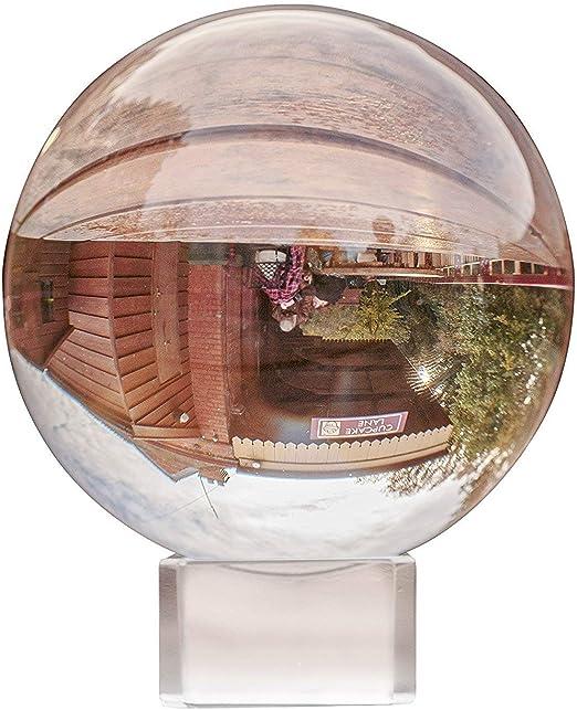 UHMei K9 - Bola de cristal para decoración de fotografía, 80 mm de ...