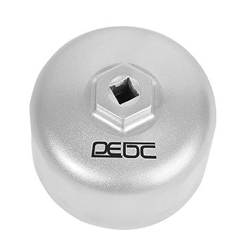 DEDC Llave para Filtro de Aceite Coche 86mm 16 Estrías Llave Vaso de Filtro de Aceite: Amazon.es: Coche y moto