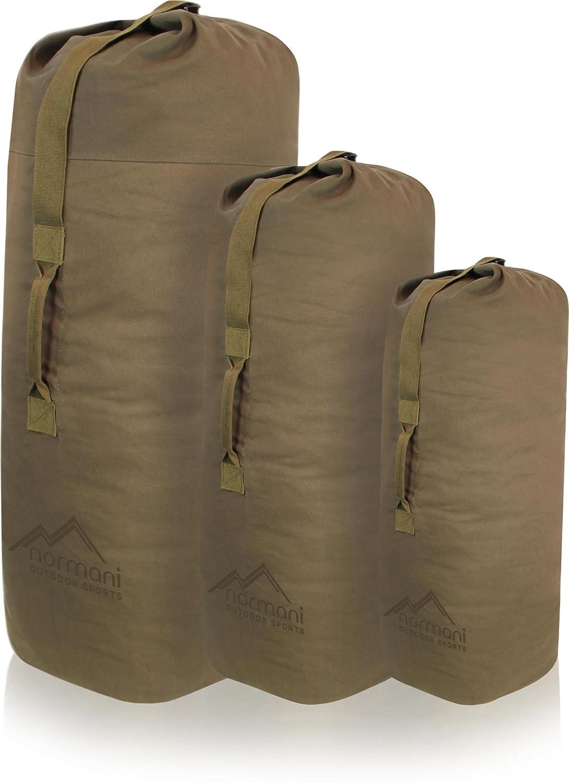 normani US Canvas-Baumwolle Seesack Duffle Bag Classic Sea
