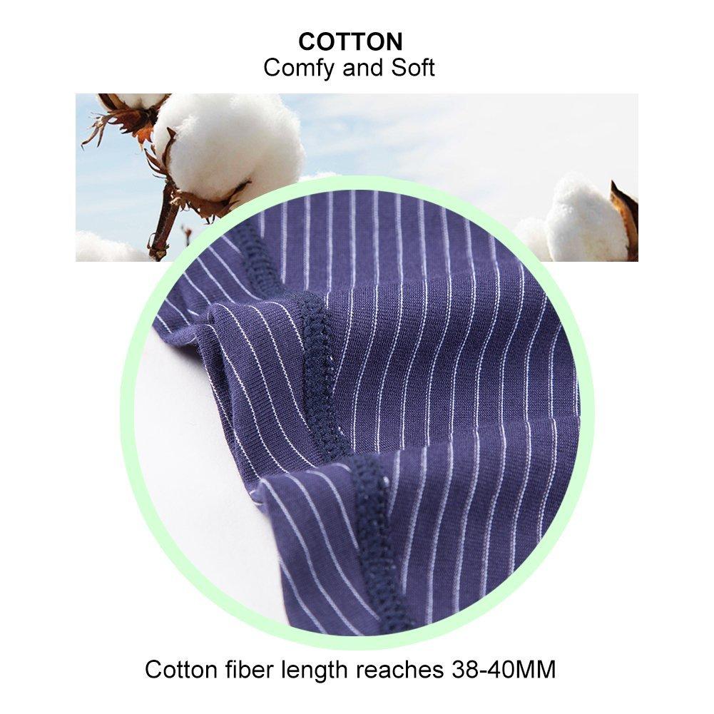 Camel Mens Boxer Briefs Underwear,Breathable Cotton Low Rise Boxers (2 Pack)