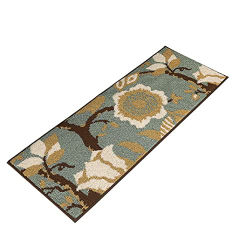 MustHome Kitchen Rug Non Slip Rubber Backing Kithcen Floor Mat/Runner Mat  Perfect in Front of Sink and Dishwasher (18\