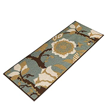 Amazon Com Musthome Kitchen Rug Non Slip Rubber Backing Kithcen