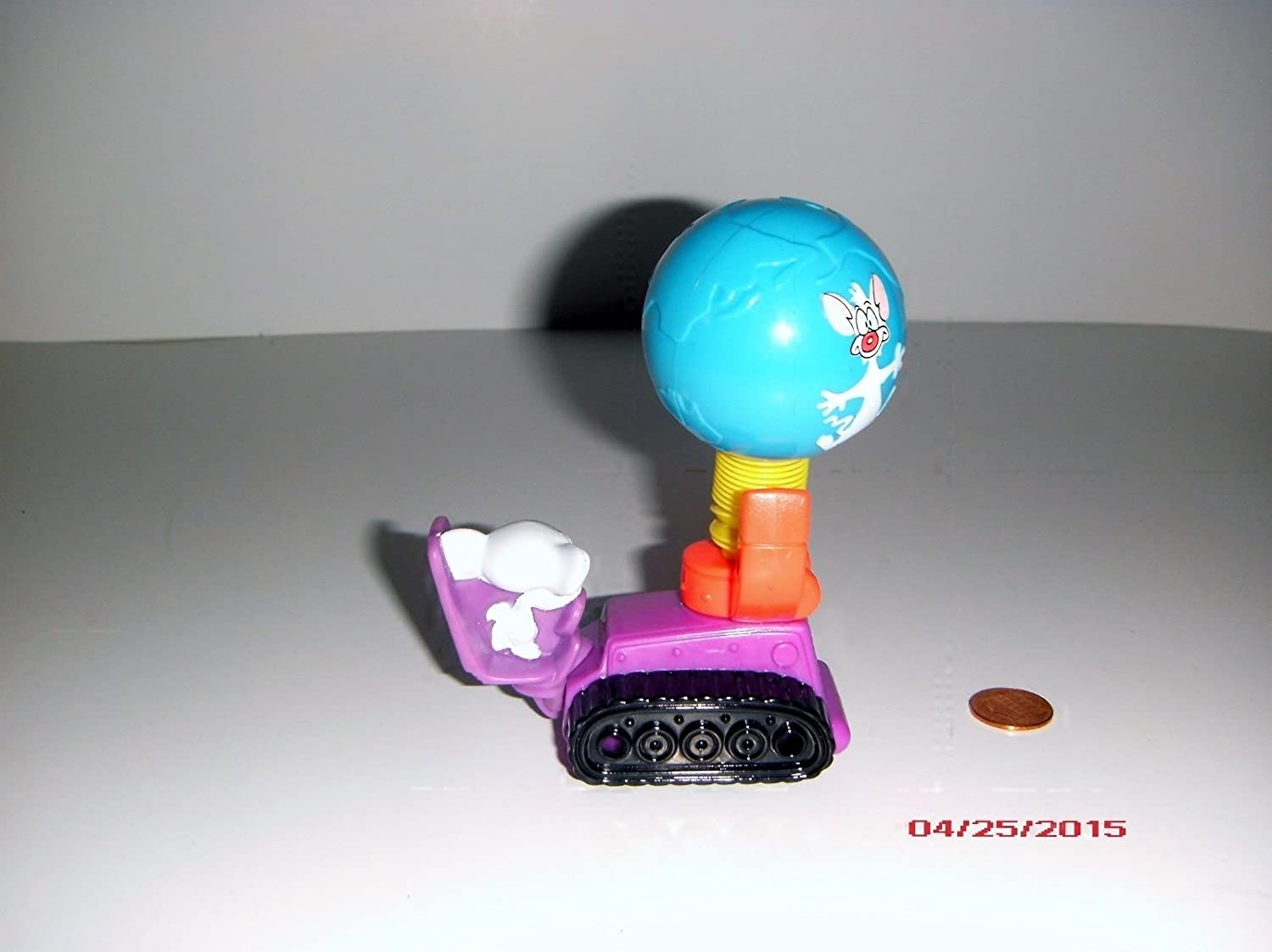 McDonalds Happy Meal Animaniacs Toy Pinky /& the Brain Vehicle Toy #1 1994