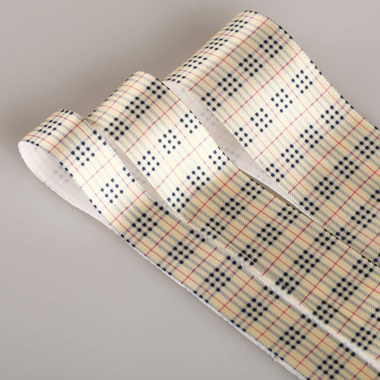 De la cinta Neotrims diseño de cuadros escoceses de Por el la ...